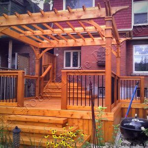 Deck and Pergola in Toronto