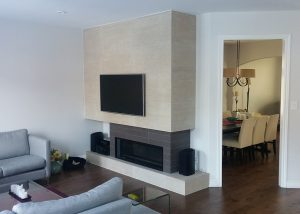 Living Room Renovation - Mississauga