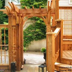 Fence Deck and Pergola in Toronto Built by SKL Group