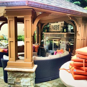 Gazebo in Voughan Ontario, Built by SKL Group in 2012