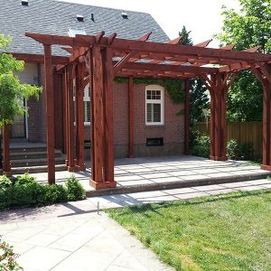 Pergola-Oakvile, ON Designed and Built by SKL GRoup
