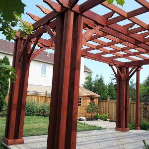Pergola in Oakvile