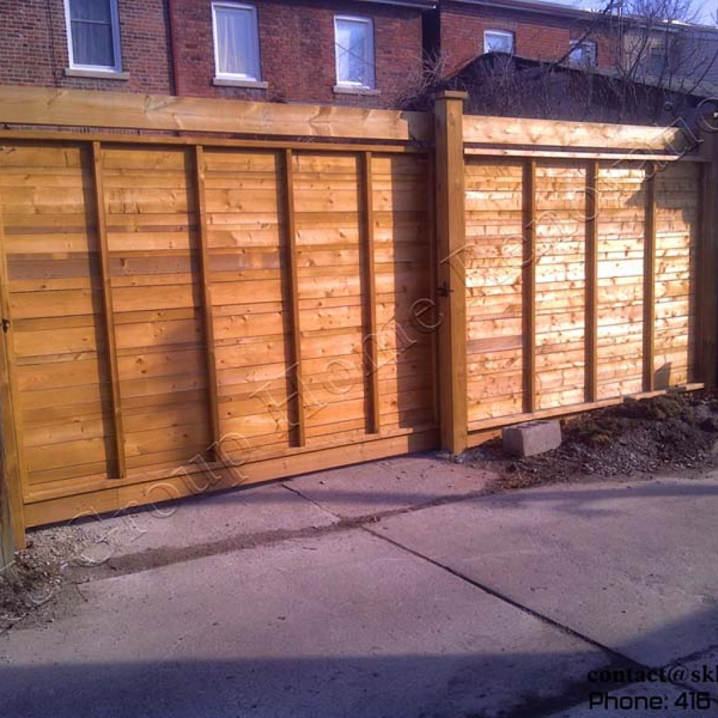Fence - Toronto built by SKL Group in 2009