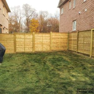 Picture of Fence in Richmond Hill Built by SKL Group