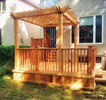 2 Level Deck and Pergola-Toronto