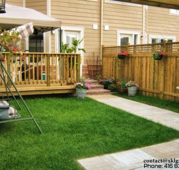 Fence & Deck in Markham designed and built by SKL Group in 2008