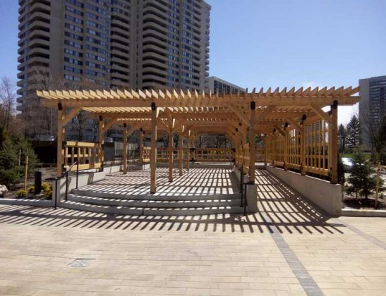 Pergola Designed and Built by SKL Group Toronto 2019